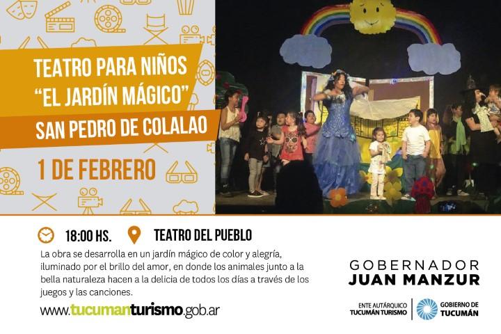Teatro para niños - Ente Autárquico Tucumán Turismo